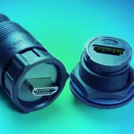 HDMI 防水连接器