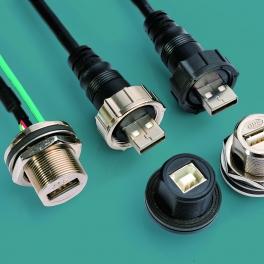 USB 防水连接器